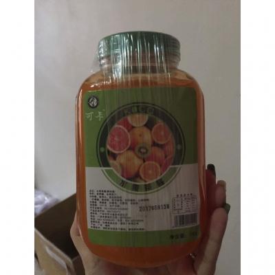 Sốt Cam Đào - Nguyên Liệu Trà Sữa Cao Cấp